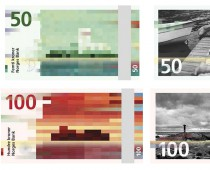 Nórsko sa rozhodlo pre bláznivo vyzerajúce bankovky s pixelovým dizajnom!
