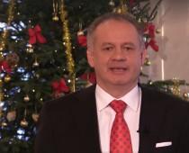 VIDEO: Vianočné prianie prezidenta Andreja Kisku Slovensku