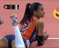 21 ročná volejbalistka Winifer Fernandez sa stáva hviezdou internetu