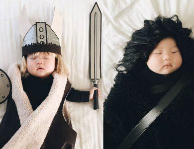 Rozkošné dieťa sa stalo hitom internetu vďaka kreatívnym kostýmom