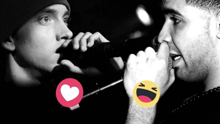 Drake vyzval Eminema na rap battle. Ako zle na tom je Drake na stupnici od 1 do McVrabec?