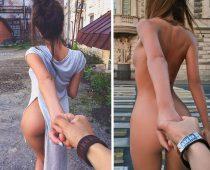"""Ruský fotograf vytvoril sexi verziu """"follow me"""" a tá naozaj stojí za to"""