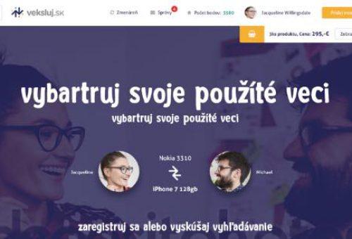 Zabudnite na online bazár. Portál veksluj.sk je revolučný systém výmeny a nákupu