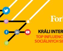Magazín Forbes zostavil rebríček top influencerov slovenského internetu