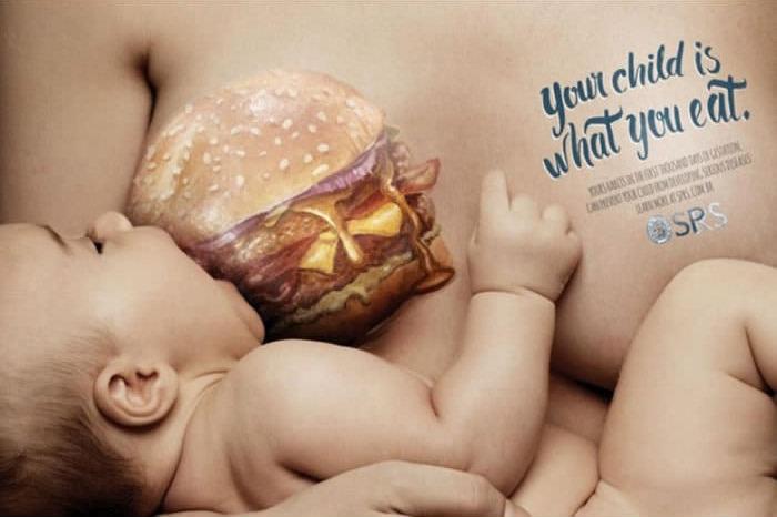 Vaše dieťa je to, čo jete!