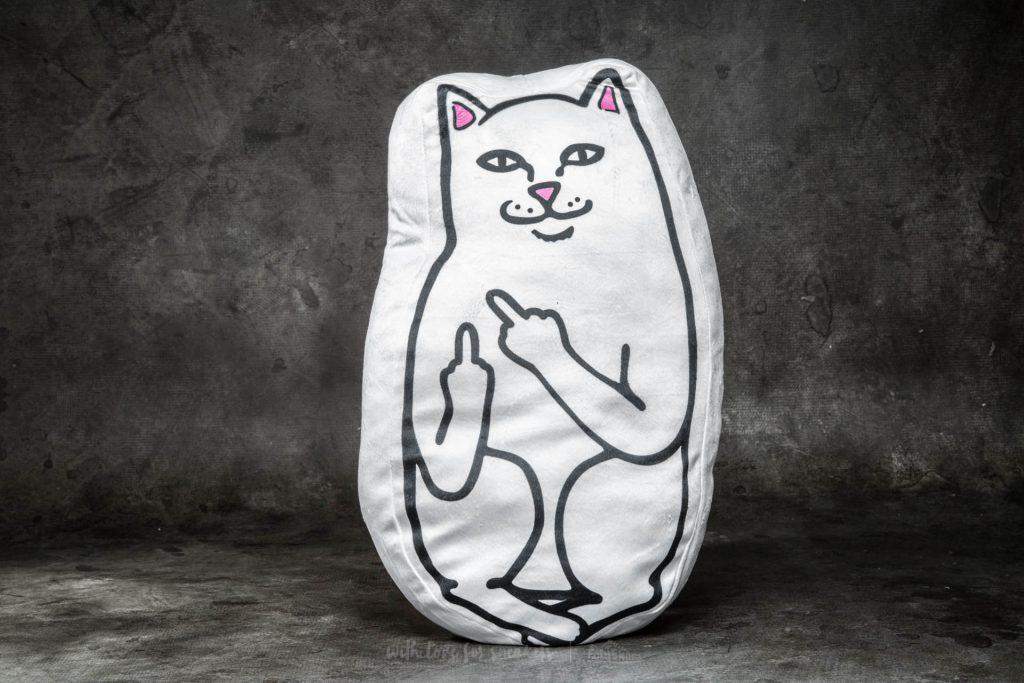 ripndip-lord-nermal-pillow-white
